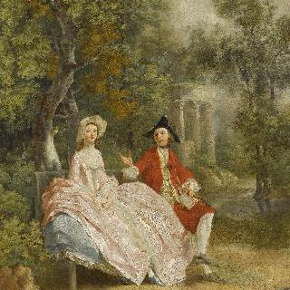 공원에서의 대화 (게인즈버러와 그의 아내)