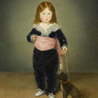 두 살이 된 루이스 마리아 데 시스투에의 초상