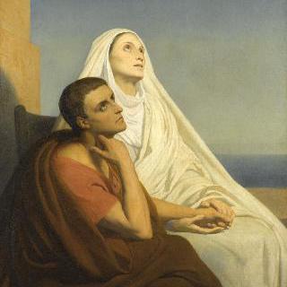성 아우구스티누스와 그의 어머니 성 모니카