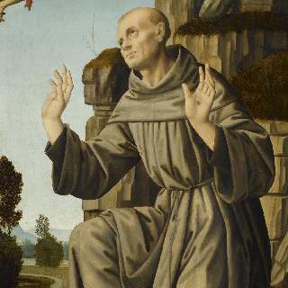 황홀경에 빠진 성 프란체스코