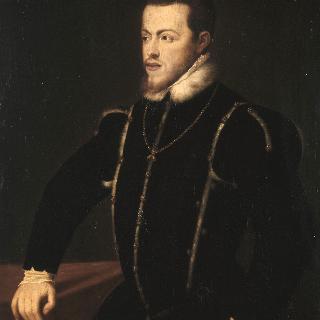 스페인과 포르투갈의 왕 펠리페 2세의 초상