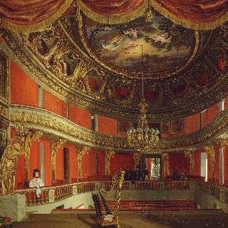 프티 트리아농 궁에 있는  내부