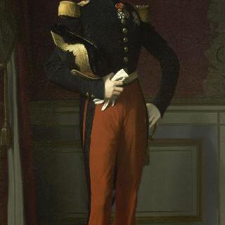 소장 군복을 입은 오를레앙의 공작, 페르디낭 필립