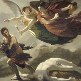 죄악을 뒤쫓는 정의의 여신과 복수의 여신
