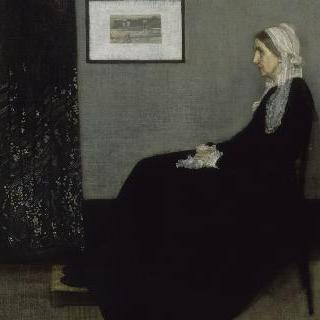 회색과 검정의 배열 (화가의 어머니 1804-1881)