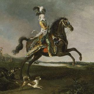 말을 타고 있는 마리 앙투아네트