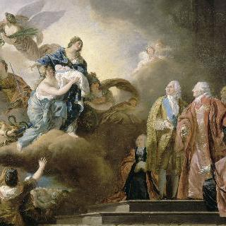 왕세자 루이 조제프 자비에 프랑수아 탄생에 대한 우의화
