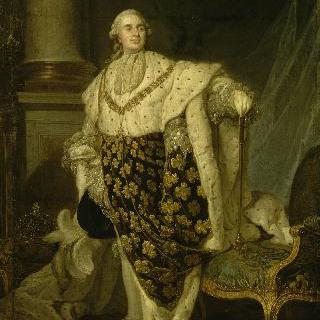 대관식 복장을 입은 루이 16세 (1754-1793)