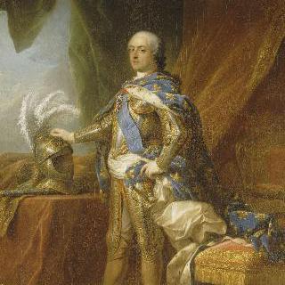 갑옷을 입은 루이 15세 (1710-1774)