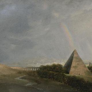 피라미드와 무지개