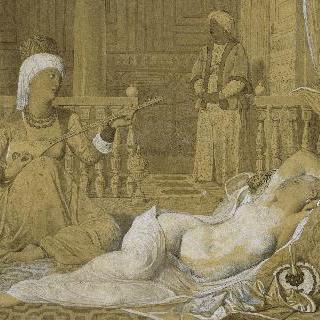 노예가 있는 오달리스크