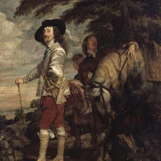 사냥 출정 나간 영국 왕 찰스 1세