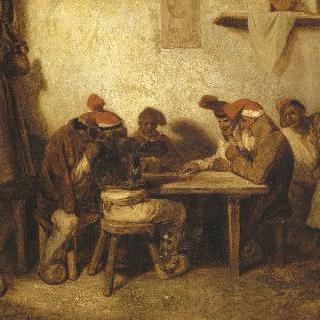 카드 놀이 하는 스페인 사람들 (카탈로니아 사람들)