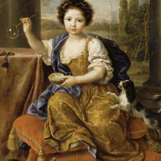 루이즈 마리 안 드 부르봉, 일명 마드무아젤 드 투르 (1674-1681)
