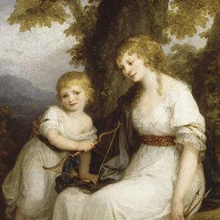 크뤼드너 남작 부인과 그녀의 아들