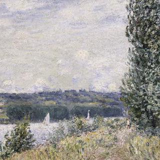 부이유의 센 강, 돌풍 (1894)