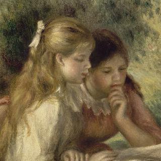 책읽는 소녀