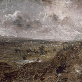 함스테드 히스의 풍경, 폭풍, 함스테드 브랜치 언덕의 연못