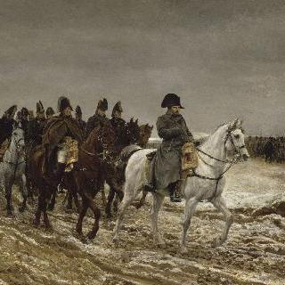 1814년, 프랑스의 전장