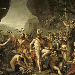 테르모필레 전투의 레오니다스