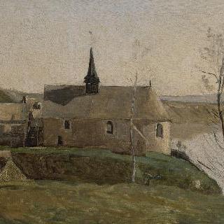 망트 근처의 롤부아즈 교회