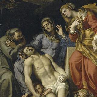 성 프란체스코와 막달라 마리아가 있는 피에타
