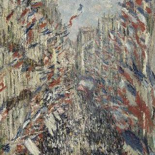 1878년 6월 30일, 축제가 열린 파리의 몽토르게이 거리