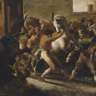 로마에서의 자유 경마