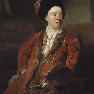 화가 장-밥티스트 포레스트의 초상 (1636-1712)