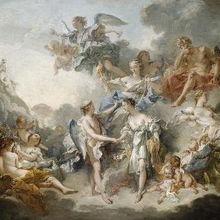 프시케와 에로스의 결혼