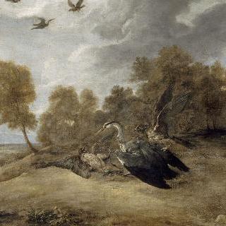 레오폴드-기욤 대공의 왜가리 사냥