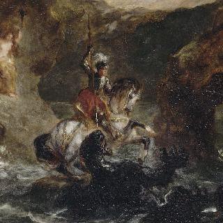 용과 싸우는 성 게오르기우스(안드로메다를 구출하는 페르세우스)