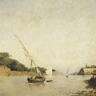 나일 강의 전경