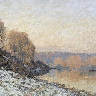마를리 항의 설경, 하얀 서리 (1872)