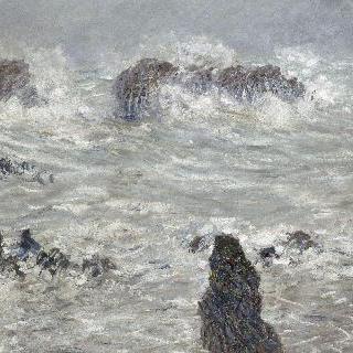 폭풍우치는 벨-일 연안