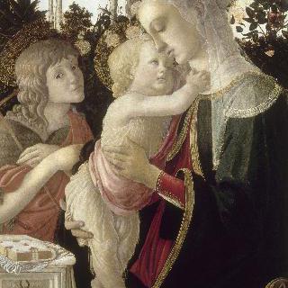 어린 성 세례 요한과 함께 있는 성 모자