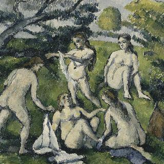 다섯 명의 목욕하는 여인들