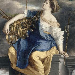 악의 무리로부터 승리한 천복의 여신