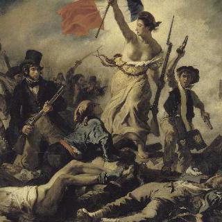 민중을 이끄는 자유의 여신 - 1830년 7월 28일