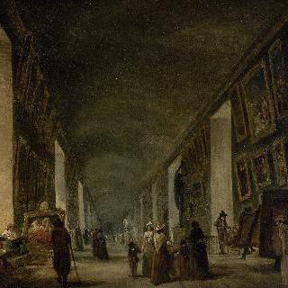 1794년 에서 1796년 사이, 루브르의 대회랑