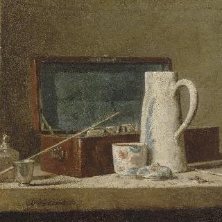파이프와 물병 (흡연실)