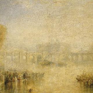 파리 퐁네프 다리 풍경