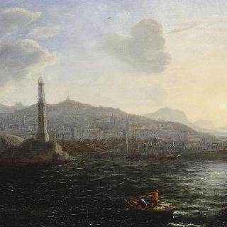 제노바 항구, 바다 풍경