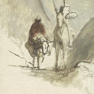 돈키호테와 죽은 암노새