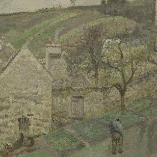 퐁투아즈 에르미타주의 비탈진 언덕