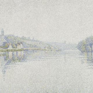 강 가, 에르블레의 센 강