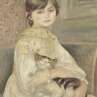 줄리 마네 (후의 마담 에르네 루아르), 일명 고양이를 안고 있는 아이