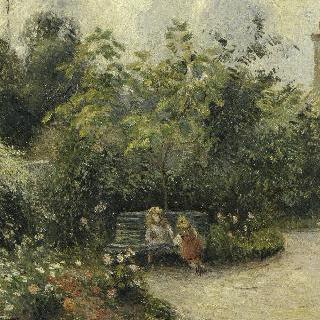 에르미타주의 정원 한 구석 (마튀랭 정원)