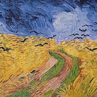 까마귀가 있는 밀밭