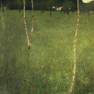 자작나무가 있는 농장
